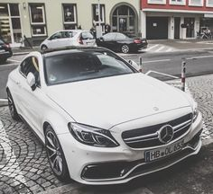 #Mercedes C63 AMG Coupe