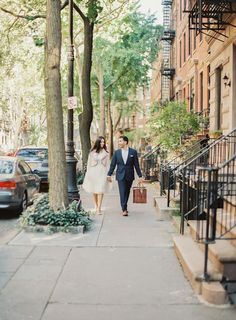 The West Village: http://www.stylemepretty.com/new-york-weddings/new-york-city/2015/06/12/8-charming-engagement-session-spots-in-new-york-city/