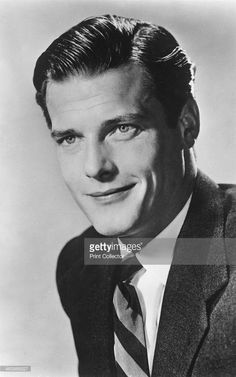 Roger Moore, British actor, 20th century. Roger Moore is best known for his portrayals of Simon Templar in the 1960s TV series The Saint, and James Bond, who he played in 7 films between 1973 and 1985.
