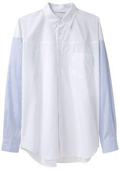Comme des Garçons Shirt - Striped Sleeve Shirt