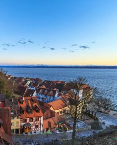 Meersburg (Baden-Württemberg) - our hotel was the right-most building, right on the water...Hotel Zum Schiff. We loved this place!