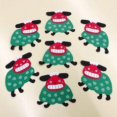 【アプリ投稿】【絵馬(0歳児)】 | みんなのタネ | あそびのタネNo.1[ほいくる]保育や子育てに繋がる遊び情報サイト【目】 Bead Crafts, Diy And Crafts, Crafts For Kids, Paper Crafts, Perler Beads, Kids And Parenting, Activities, Wall Art, Handmade