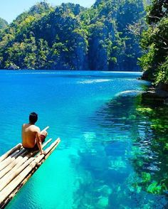 Kayangan Lake, Coron, Philippines --one of the cleanest lakes in Asia. This is fast becoming my next hopeful travel destination!