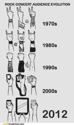 Evolution of the Concert Goers