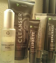 It Works all natural Skin Care!  My Skin is Happy! https://vawnwraps.myitworks.com