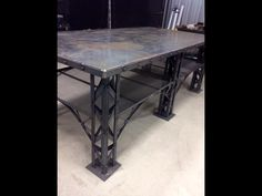 Table metal Souduremobilegenec