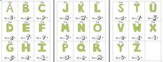 L'alphabet J'ai.... Qui a .... ?