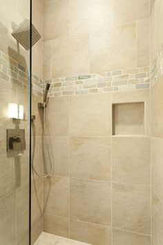 Shower Tile Patterns Design Ideas, Pictures, Remodel, and Decor - page 30