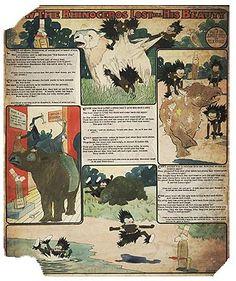 Tavola della serie 'Tales of the Jungle Imps', di Wilson McCay, pubblicata sul «Cincinnati Enquirer» il 5 maggio 1903.