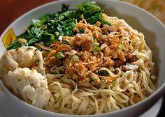 Resep Mie Pangsit Sederhana - http://resepindonesia.net/resep-mie-pangsit-sederhana/