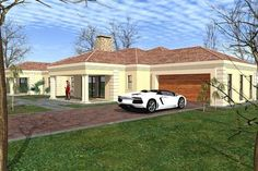 A AAABook No 3 (Downloadable as PDFs) – www.vhouseplans.com Flat Roof House Designs, Bungalow House Design, Tuscan House Plans, Modern House Plans, Free House Plans, House Floor Plans, House Plans South Africa, Double Storey House, Beautiful House Plans
