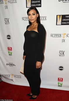 Next up, bookshelves! Naya - pictured in April in Washington D.C. - has announced she will...
