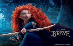From the movie Brave. (More wild hair.)