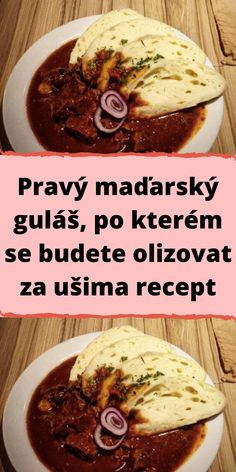 Czech Recipes, Ethnic Recipes, Lunch Menu, Ground Meat, Food 52, Stir Fry, Food Videos, A Table, Good Food