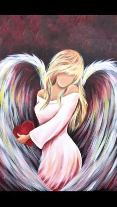 Anime Angel Holding A Rose Drawing - - Angel Artwork, Angel Drawing, Angel Pictures, Painting Inspiration, Painted Rocks, Fantasy Art, Watercolor Paintings, Art Projects, Art Drawings