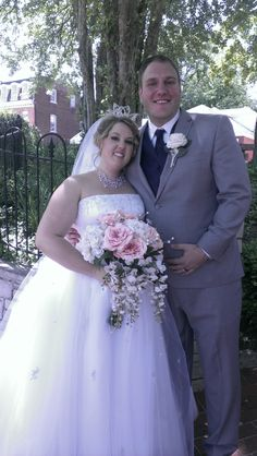 Casey and Jenny were married on Main Street St. Charles on May 10, 2014
