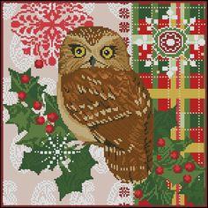 Gallery.ru / Christmas owl - Объявления - tani211