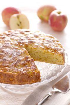Questa torta di mele soffice sarà la più buona che tu abbia mai preparato! #mele #applepie #apple #ricotta #Giallozafferano
