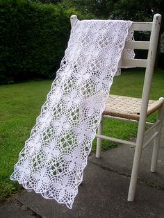 I'm Not Usually In A Limo scarf, free pattern by Maria Keays