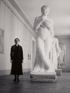 This is Rose Valland, one of the heroes of Nazi-Occupied France. An employee of the Louvre, she kept records of the art stolen by Nazi officers—what was taken, from where, and by whom. She was instrumental in the postwar return of countless stolen pieces, and one of the most decorated women in French history.