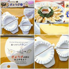 Easy Gyoza Chinese Meat Dumpling Making Mold