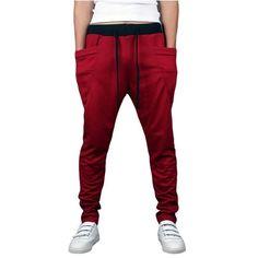 Mens Jogging Harem Pants - Mens Urban Clothing