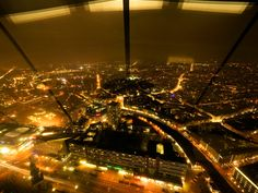 Berlin at night | View from the TV Tower.