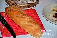 Baguette croustillante et facile