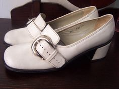 60s shoes. (I think I had these)