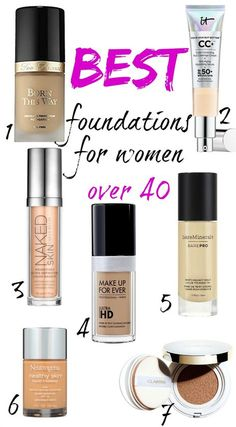 Best foundation for 40 plus