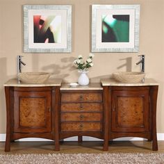 Sinks and cabinets