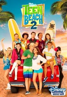 "Join Brady (Ross Lynch) and Mack's (Maia Mitchell) in the all new Disney Channel Movie, Teen Beach premiering June They survived their last encounter with the ""Wet Side Story… Disney Channel Movies, Disney Channel Original, Disney Channel Stars, Original Movie, Annie Original, Ross Lynch, Maia Mitchell, Film Disney, Disney Movies"