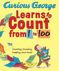 Curious George Learns to Count from 1 to 100 by H. A. Rey https://www.amazon.com/dp/0547138415/ref=cm_sw_r_pi_dp_hpODxb8TG1SQQ