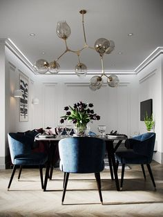 View full picture gallery of DOVE Dining Room Office, Dinning Room Tables, Dining Room Design, Classic Dining Room, Elegant Dining Room, Piece A Vivre, Dining Room Inspiration, Apartment Interior Design, Deco Furniture