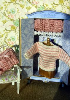 Dollhouse miniature. Sweater/jumper for a dollhouse by Buyminiart