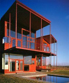 Y HOUSE Catskills, NY, United States, 1997-1999 (Steven Holl)