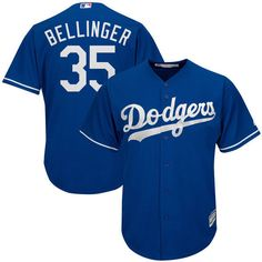 f4b2fb09d1e MLB Men s Los Angeles Dodgers Cody Bellinger Majestic Gray Cool Base Player   MLB Nike Nfl