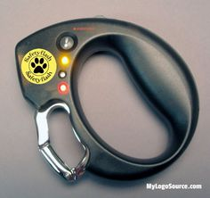 Your brand will be appreciated when you give dog lovers the Safety Leash Handle! Now you can take your dog out at night with confidence. Easily attaches to your regular leash. Batteries included. Ergonomic grip strong 3 LED flashlight warning LEDs for traffic emergency alarm carabiner clips to leash.  For more info: http://ift.tt/2biZmvW  #dog #dogs #walk #night #dark #safety #veterinarian #grooming #boarding #animals #leash #kennnel #pet #dogsofinstagram #photooftheday #brand #marketing…