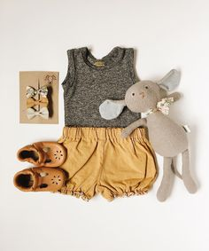 Adorable little girl outfit that's not pink.