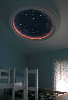 star dome. so cool, but probably a pain to clean!