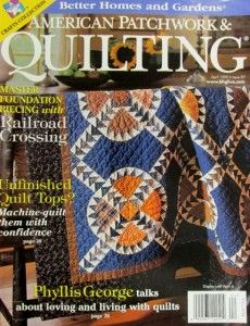 "Picture used with permission of Better Homes and Gardens ""American Patchwork & Quilting""."
