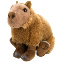 """Wild Republic Cuddlekin Capybara 12"""" Plush >>> Read more at the image link. (This is an affiliate link) #Puppets"""