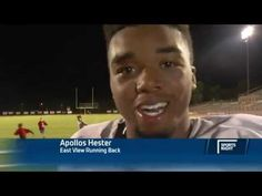 High School Football Player Apollos Hester's Motivational Post Game Interview - #Football #Motivational #EastView