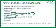 Now Paying 4% A Day at ACX ! ACX is by far the BEST Online Money-making Program Ever. Having the ability to change the Variable DSC Rate allows ACX to keep paying huge Daily Commissions for months and months... even for years !!! I work online from home and I manage to cover my low salary income.Online income is possible with ACX, who is definitely paying- no scam here. www.adclickxpress...