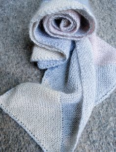 Whit's Knits: Just Triangles EntrelacScarf - The Purl Bee - Knitting Crochet Sewing Embroidery Crafts Patterns and Ideas!