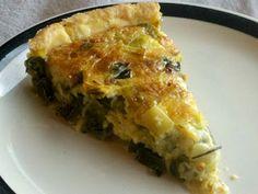 L is for Leek and Parmesan Tart Recipe Leek Recipes, Tart Recipes, Brunch Recipes, Breakfast Dishes, Breakfast Recipes, Baked Eggs, Savoury Dishes, Coffee Cake, Parmesan
