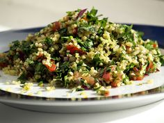Awesomely Delicious Quinoa Tabbouleh. {Vegan, Gluten Free Recipe}