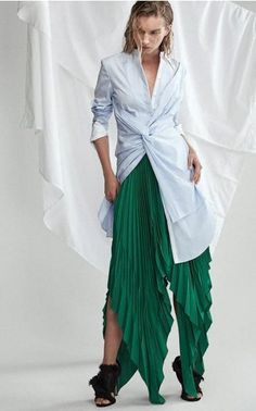 The Designers: Kathryn Forth and Julia Ritorto made a big impression when their collection of hand-draped pieces debuted on Moda last season. <br><br> This Season It's About: Their modern aesthetic yields cool, structured pieces without compromising comfort. Find ivy green pleats, navy corduroy shorts, interesting shirting and tailored black separates that come with on trend lace-up detailing.