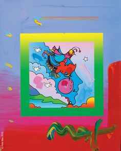 """Woodstock Series: Profile on Blends"" Peter Max  - Park West Gallery"