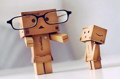 Amazon Box Robot Story Time